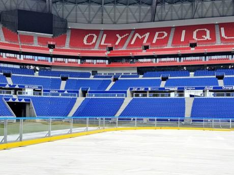 Il ne manque plus que la glace au Parc OL - DR OL