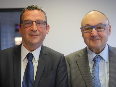 Marc Cachard et Gérard Angel - LyonMag