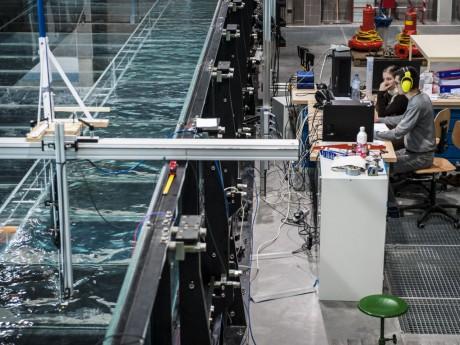 Ce simulateur unique en Europe est basé à Villeurbanne - DR IRSTEA / T.Fournier.