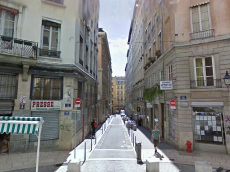 La rue des Capucins - DR Google