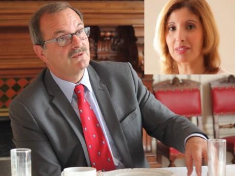 Jean-François Carenco et Zemorda Khelifi - Montage DR