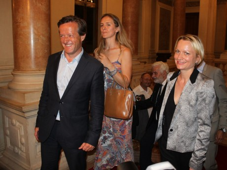 Caroline Collomb aux côtés du députés LREM Thomas Rudigoz - Lyonmag.com