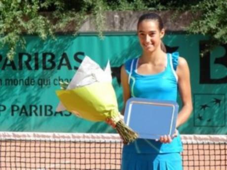 La Lyonnaise Caroline Garcia s'est inclinée dès le 1e tour du tournoi de Rome - DR