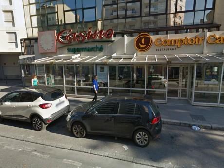 Le supermarché du cours Emile Zola a été fermé - DR