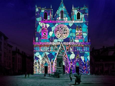 L'animation prévue cette année sur la cathédrale Saint-Jean - DR