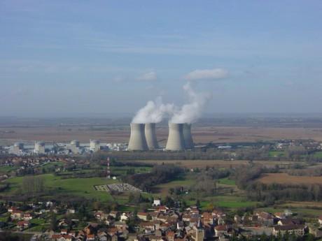 La centrale nucléaire du Bugey - photo DR