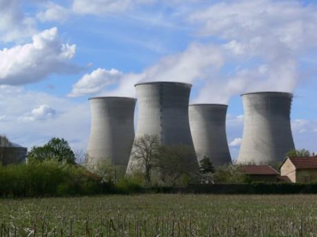 La centrale nucléaire du Bugey dans l'Ain - Photo AFP/DR