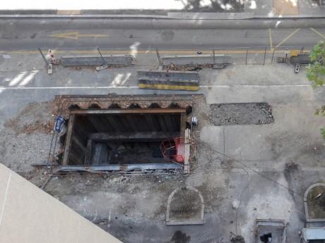 C'est sur ce chantier que l'accident s'est produit - Lyonmag.com