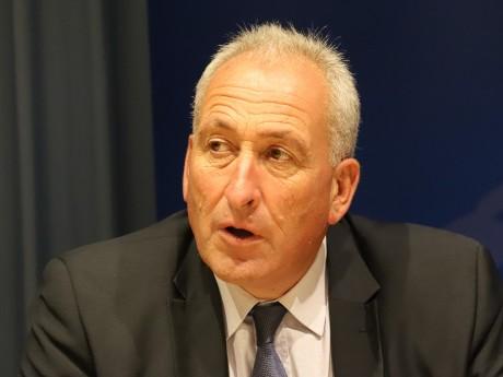 Charles Perrot, président du groupe RN à la Région - LyonMag