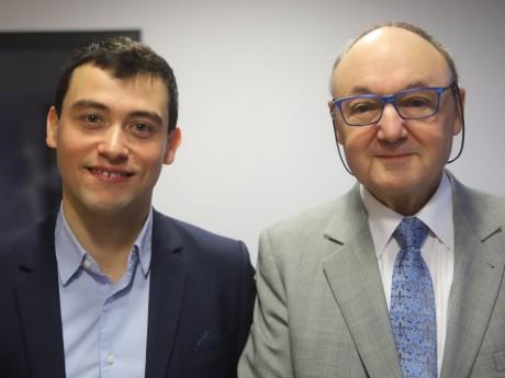 Clément Charlieu et Gérard Angel - LyonMag