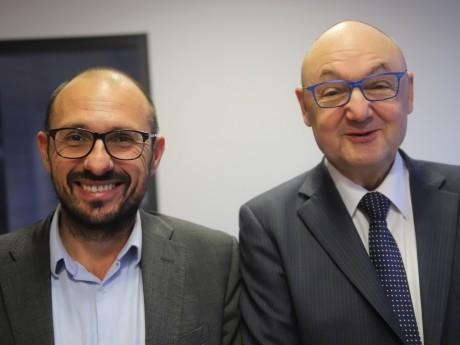 Stéphane Chassignol et Gérard Angel - LyonMag