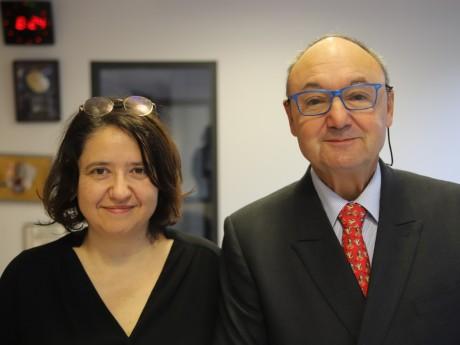Carole Chazoule et Gérard Collomb - LyonMag