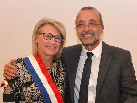 Christiane Charnay et Martial Passi - DR Ville de Givors
