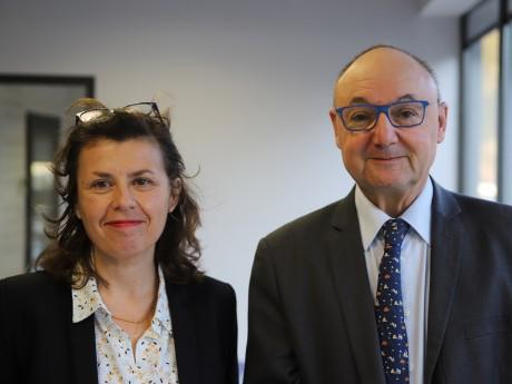 Carole Château et Gérard Angel - LyonMag