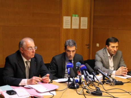 Albert Doutre, Marc Cimamonti et Jean-Marc Rebouillat - LyonMag