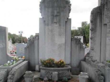Cette sépulture sera mise en vente en juin - DR