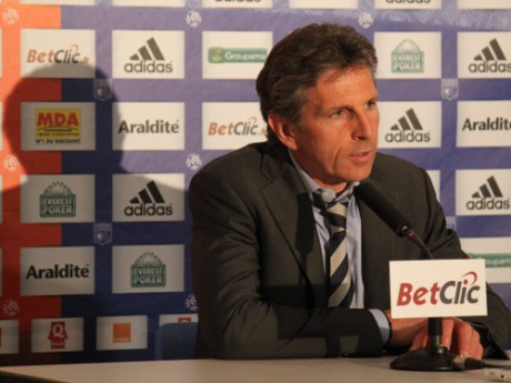 Claude Puel - Photo Lyonmag.com