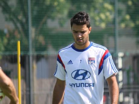 Clément Grenier s'est blessé à la cheville lors d'un entrainement - LyonMag.com