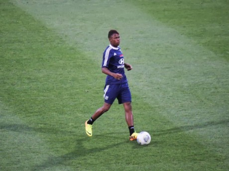 Le Camerounais Clinton N'Jie - photo Lyonmag.com