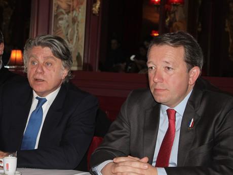 Gilbert Collard et Christophe Boudot - LyonMag