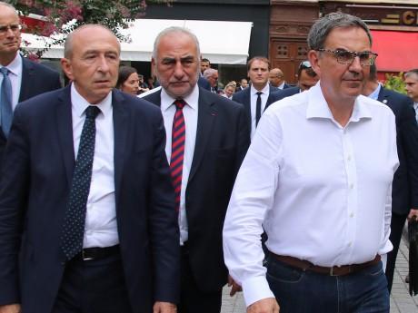 Gérard Collomb, Georges Kepenekian et David Kimelfeld - Lyonmag.com