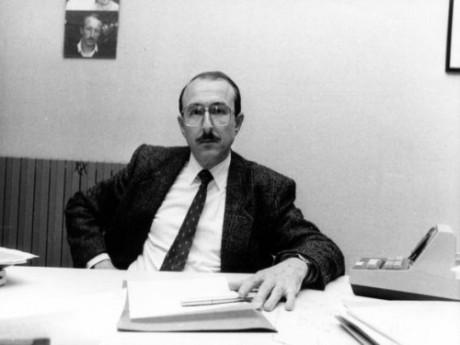 Gérard Collomb, époque vintage - DR Le Figaro