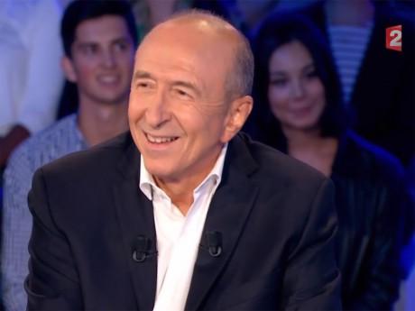 Gérard Collomb sur le plateau de France 2 - DR
