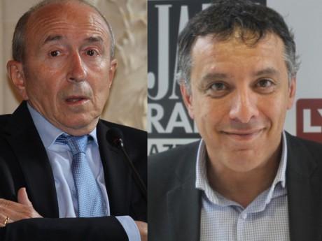 Gérard Collomb et Mohamed Tria - LyonMag