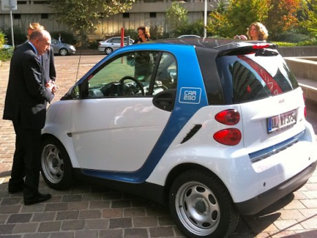 Les voitures Car2go ne fonctionnent plus à Lyon - LyonMag