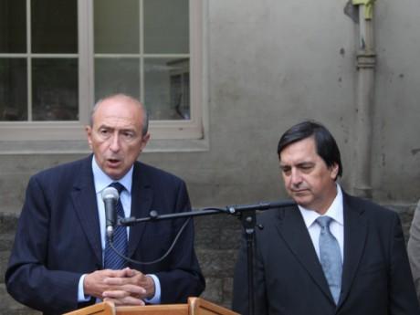 Gérard Collomb et Yves Fournel - LyonMag