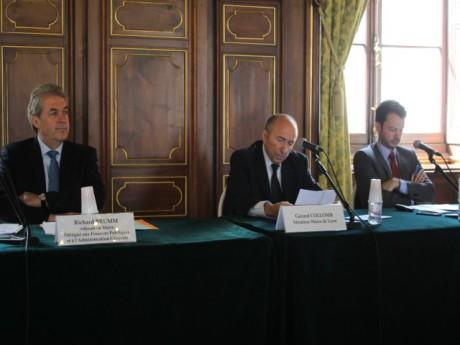 Richard Brumm et Gérard Collomb - LyonMag.com