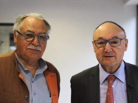 Albert Constantin et Gérard Angel - LyonMag