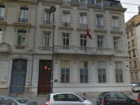 Consulat Général de Tunisie - DR Google