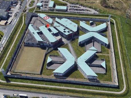 La prison de Corbas visible par tous sur Google Maps - DR Google
