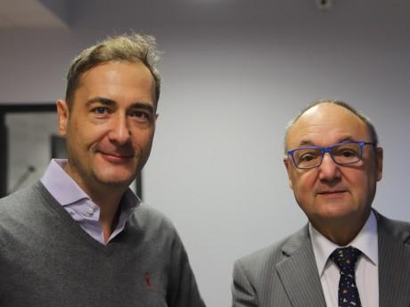 Nicolas Costa et Gérard Angel - LyonMag