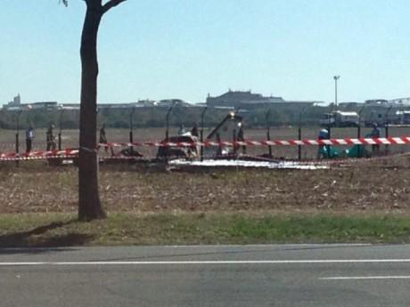 L'avion s'était crashé à Bron - LyonMag
