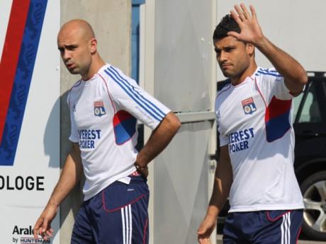 Cris et Ederson à l'entraînement - Photo Lyonmag.com