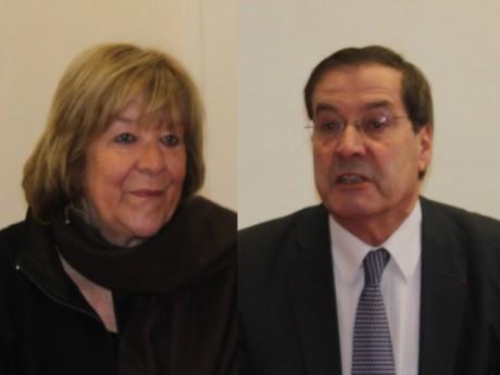 Pascale Crozon et Pierre-Alain Muet - LyonMag