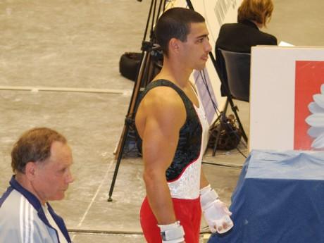 Yann Cucherat en compétition - Photo Lyonmag