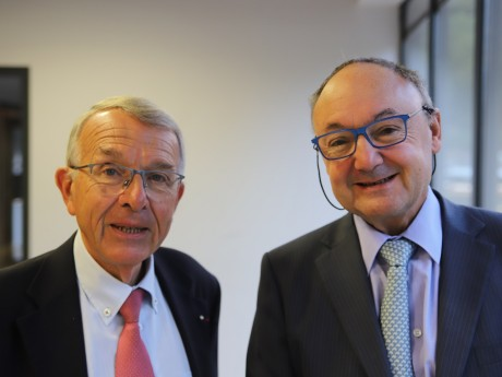 Jean-Luc Da Passano et Gérard Angel - LyonMag