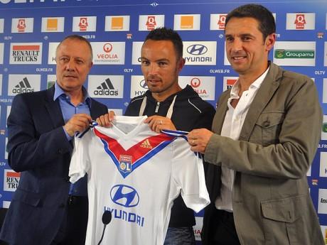 Gaël Danic sous son nouveau maillot - LyonMag.com