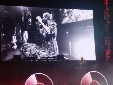 David Guetta à la Halle Tony Garnier lors de son dernier concert en 2016 - LyonMag