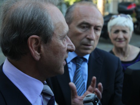 Bertrand Delanoë et Gérard Collomb - LyonMag