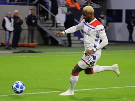 Moussa Dembélé, auteur du premier but de la rencontre - LyonMag