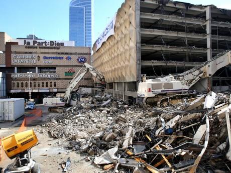 Le chantier de déconstruction a commencé - LyonMag