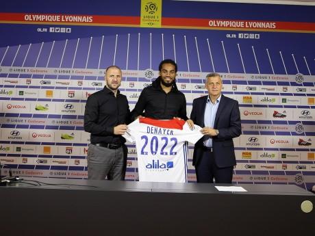 Jason Denayer à l'OL jusqu'en 2022 - Lyonmag.com