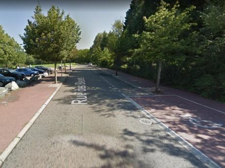 C'est dans ce parc que les sacs des fillettes ont été retrouvées - DR Google Street View