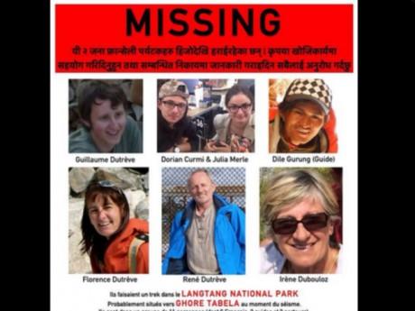 Les Rhonalpins disparus dans les montagnes du Népal  - DR