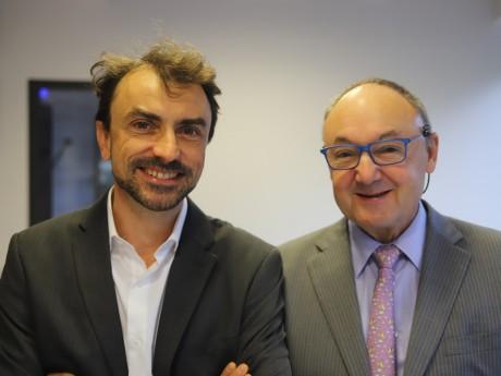 Grégory Doucet et Gérard Angel - LyonMag