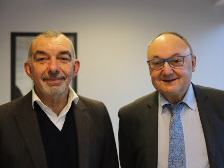 Frédéric Doyez et Gérard Angel - LyonMag